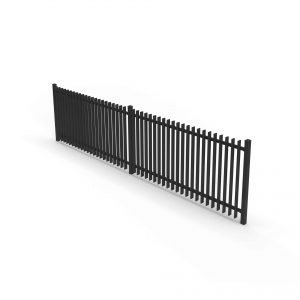 Paladin postless fence panel fin