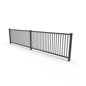 premier aluminium fence panel