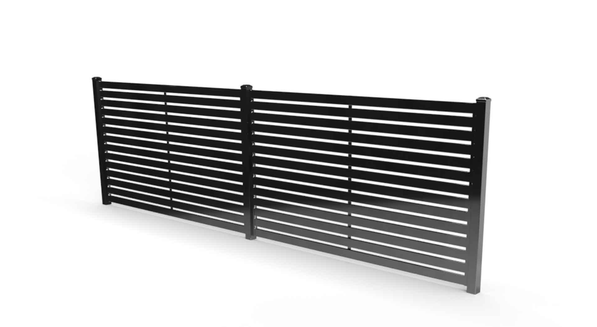 fresno slat privacy fence
