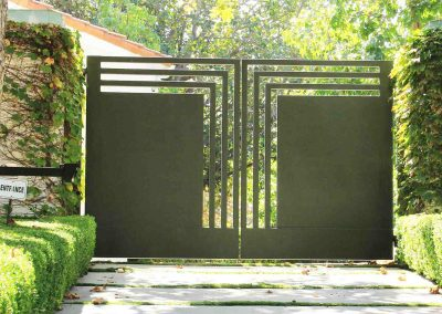 Laser gates bespoke and made to order designer