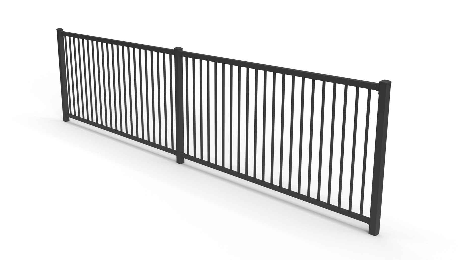 maximus durable fence balustrade garden retaining wall