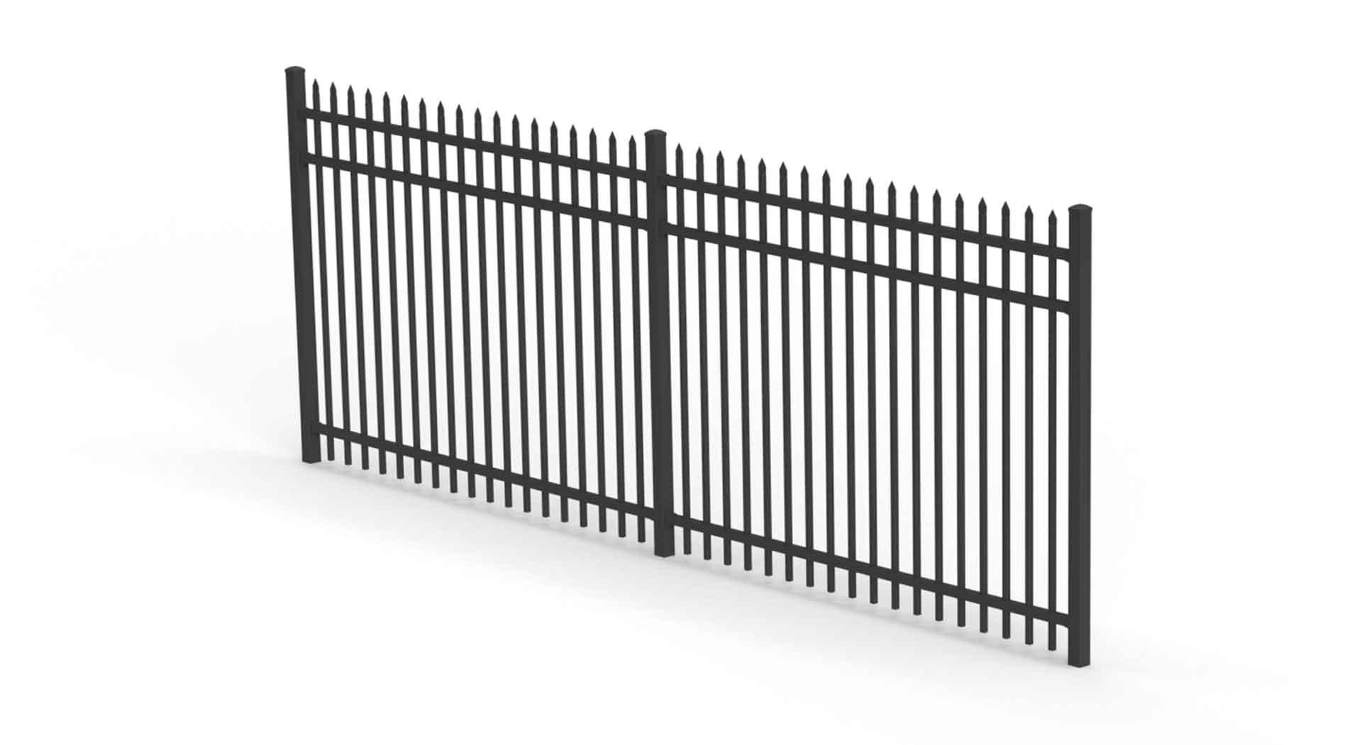secura fence panel security aluminium fencing