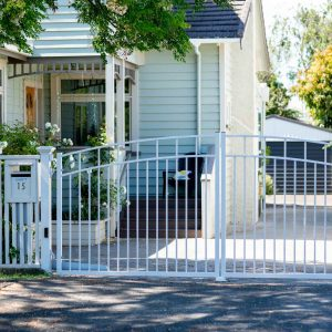 traditional driveway gates