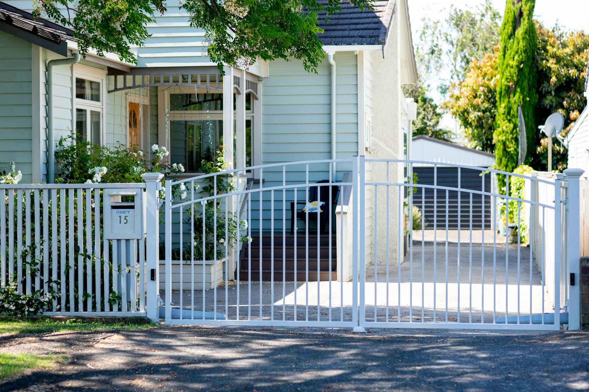 traditional driveway gates