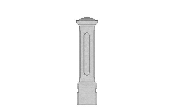 Chatsworth stoneway pillar