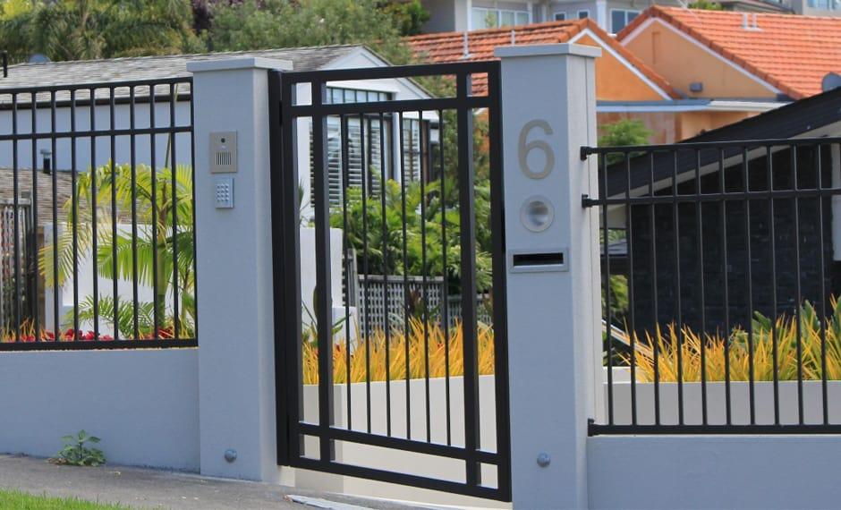 Pedestrian Gates entrance