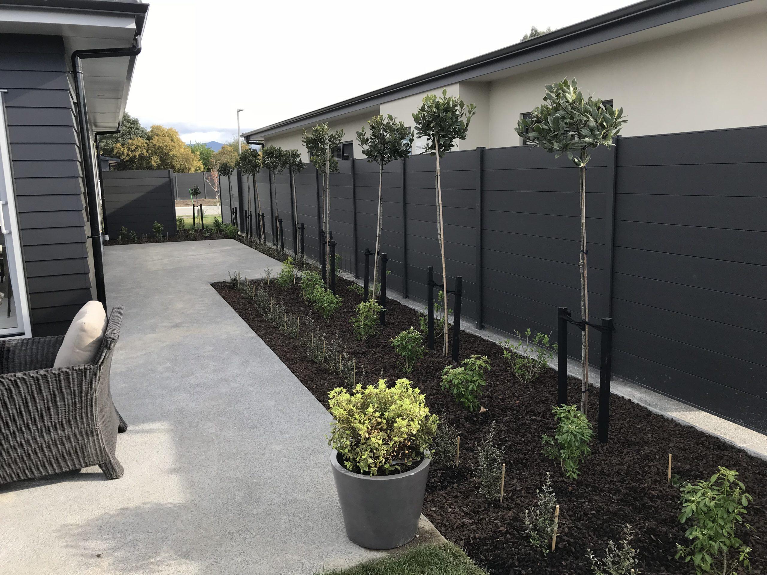 Stabiwood composite fencing